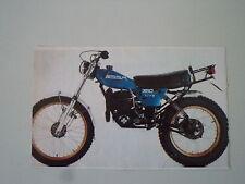 - RITAGLIO DI GIORNALE ANNO 1983 - MOTO OSSA 350 TU-YO