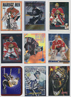 1995-96 95-96 Goalie Insert Parallel Cards NHL Hockey  - Choose From List