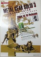 METAL GEAR SOLID 3 Poster 06