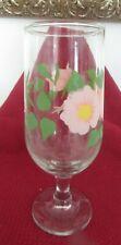 """Franciscan Desert Rose """"Iced Tea"""" Glass RARE!"""