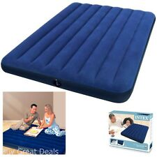 "Intex 8.75"" TWIN SIZE Downy Inflatable AIRBED MATTRESS Camping Air Bed NEW"