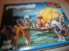 playmobil nr 6005 ridders/knights koets nieuw/neu/new