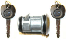 NEW OEM GM SPARE TIRE LOCK REAR BUMPER CYLINDER WHEEL CARRIER W/2 Matching Keys