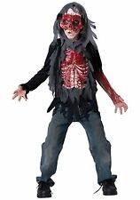 InCharacter Skinned Alive Boys Costume Size 12 Halloween Walking Dead Zombie