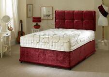 Pocket Sprung Divan Beds Mattresses with Headboard