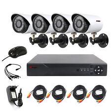 4Ch Cctv Security Camera System Hdmi Hd 720P Outdoor Video Surveillance Dvr Kit