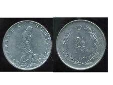 TURQUIE   2 1/2  lira 1973  ( bis )