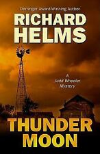 Thunder Moon (Five Star Mystery Series), Helms, Richard, Good Condition, Book