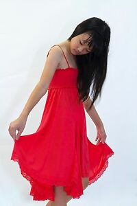 GIRL'S SHIRRED DRESS