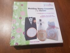 JustRite Stamper Kit - Wedding Rubber Stamp Ensemble