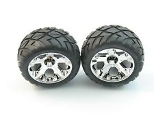 NEW TRAXXAS JATO 3.3 REAR WHEELS TIRES 2.8 ANACONDA ALL STAR 12MM TRA 5576R