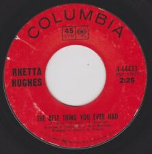 RHETTA HUGHES {60s Soul} THE BEST THING YOU EVER HAD / HOW CAN I LEAVE YOU ♫hear
