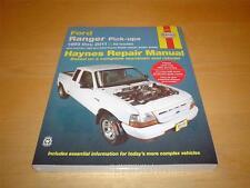 Haynes Ford Ranger THUNDER Wildtrak XLT XL Proprietari Manuale di servizio di riparazione manuale