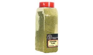Woodland Scenics T1361 Ground Foam Coarse Yellow Grass Turf Shaker Container