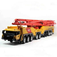 Diecast Toy Model 1:50 SANY 86m Concrete Cement Pump Truck Engineering Machinery