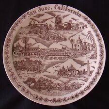 Vernon Kilns - San Jose Plate - Rosicrucian Museum - Mission Santa Clara!