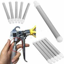 5Pcs/Set 60 Mesh Airless Paint Spray Gun Filter Screen Elements For Wagner Tool