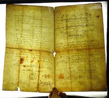 légitimation begräbnis leichenacker stadt München 1833 documents  Allemagne