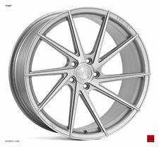 "20"" ISPIRI FFR1D Directional Wheels - Silver Brushed  BMW E60 E61 E90 M3 E92 M3"