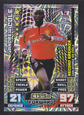Match Attax 2014/2015 - Record Breaker - 422 Andrew Cole - Manchester United
