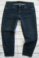 Women's Joe's Jeans Crop Skinny Dark Wash Jegging Jeans Size 30 x 24