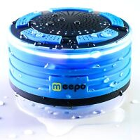 Bluetooth Waterproof Shower Speaker Portable Wireless for Outdoor w/ FM Radio
