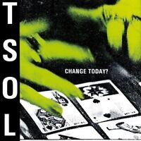 T.S.O.L. - CHANGE TODAY?   VINYL LP NEW!