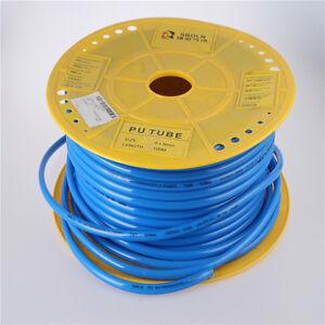 10mm x 6.5mm Pneumatic Tubing PU Hose Tube Pipe 5 Meters Blue