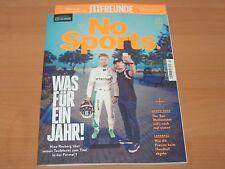 No Sports WAS FÜR EIN JAHR! Ausgabe März 2017 NEUWERTIG!