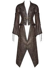 Abrigos y chaquetas de mujer de color principal marrón de piel sintética