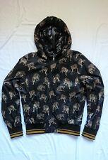 Dolce & Gabbana Hooded Leopard Zipper Jacket