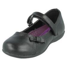 34 Scarpe nera con chiusura a strappo per bambine dai 2 ai 16 anni
