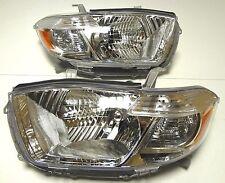 Toyota Highlander 2008-2010 SUV Left Right Front head lamp lights for USA models