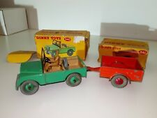 Dinky Toys Vintage Meccano LTD No.340/341 Land Rover with Trailer 1954-66 in OVP
