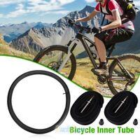 2x Heavy Duty Inner Tube 26 x 1.75 - 2.125 Bike Bicycle Rubber Tire Interior BMX