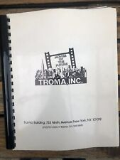 Book of 114 Troma movie posters Toxic Avenger and loads More