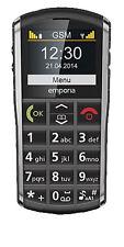 emporia PURE V25 (Ohne Simlock) Handy - Schwarz