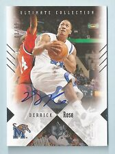 DERRICK ROSE 2010 ULTIMATE COLLECTION SIGNATURE AUTOGRAPH AUTO # 1/99