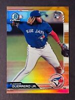 2019 Bowman Chrome Vladimir Guerrero Jr Rookie Orange Refractor RC /25