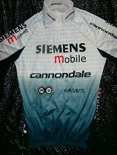 CANNONDALE SIEMENS Women's Cycling Jersey Size L Half Zip UNISEX