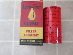 NOS Luber-finer LP-71 Filter Element  Diamond T 1947 Chevy 6 cyl. Truck 51-61