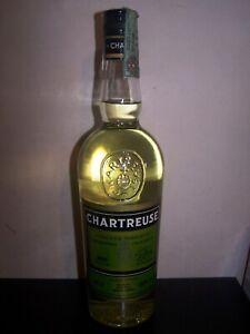 bouteille Chartreuse jaune 2002 yellow gialla liqueur bottle chartreux Velier