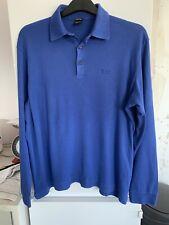Men's Hugo Boss Royal Blue Longsleeved Top Size L