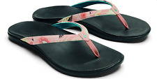 Olukai Ho'opio Dusty Pink Coral Flip Flop Sandal Women's sizes 5-11 NEW