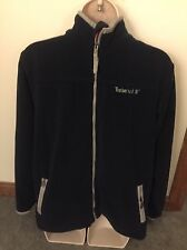 TIMBERLAND Boys Fleece Full Zipper Polyester Size L 16-18