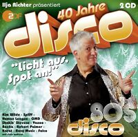 40 JAHRE DISCO:HITS OF THE 80´S MIT ALICE UVM. 2 CD NEU
