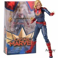 SHF Avengers Endgame Captain Marvel Action Figure PVC Collectible Model Toy