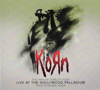 KORN LIVE AT THE HOLLYWOOD PALLADIUM CD + DVD NEW SEALED FREAK ON A LEASH