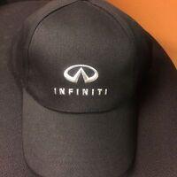 Infiniti METAL LOGO Hat Cap Black Ajustable Back