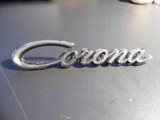 Toyota Corona emblem badge nameplate  as shown